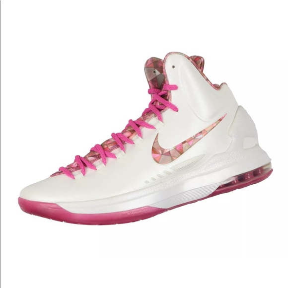 3a7f981cd1e Nike KD V Premium Aunt Pearl Edition Think Pink